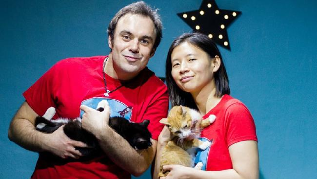 Wenee Yap, the owner of Sydney's first cat cafe, is struggling to get into the property market.
