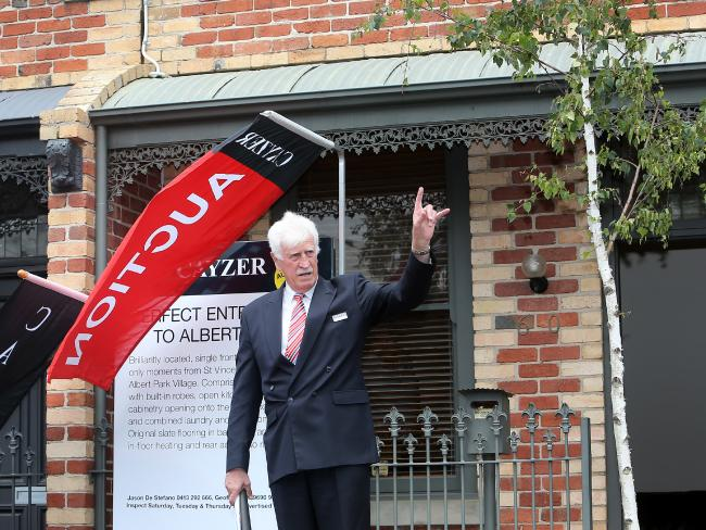 House prices in Sydney recorded the highest annual growth rate in 14 years in the year to February.Source: News Corp Australia