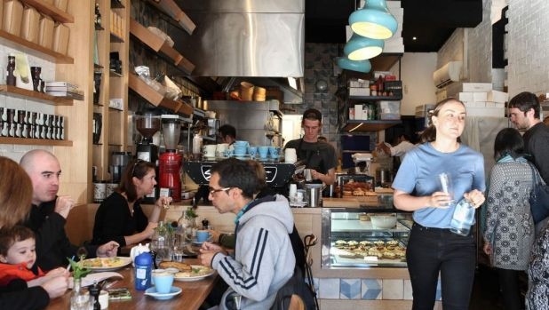 Cobb Lane bakery and cafe in Yarraville. Photo: Anu Kumar