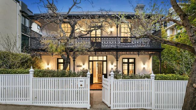 30 Darling St, South Yarra is for sale for $5.5-$6 million near the popular South Yarra Primary School. Source:Supplied