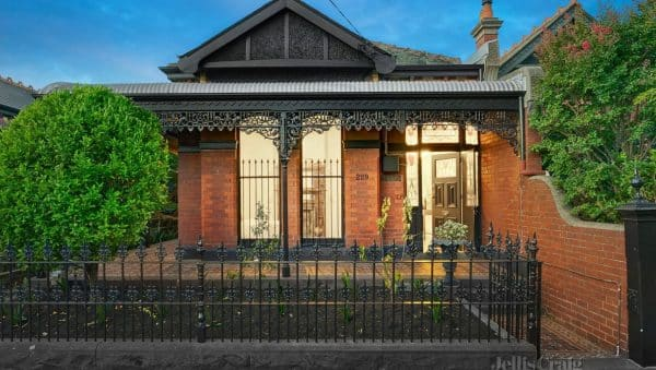 This three-bedroom renovated home at 229 Scotchmer Street, Fitzroy North also attracted downsizers.