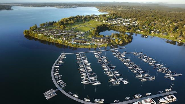 Trinity Point, a development in the Lake Macquarie area. Source:Supplied