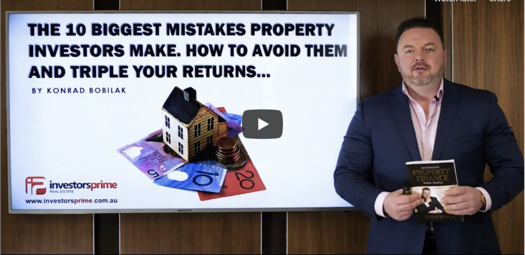 10 BIGGEST MISTAKES PROPERTY INVESTORS MAKE HOW TO AVOID THEM & TRIPLE YOUR RETURNS - Konrad Bobilak