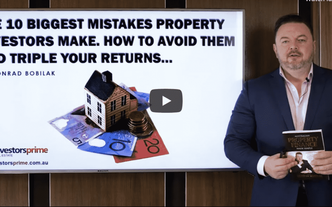 [New Video] 10 BIGGEST MISTAKES PROPERTY INVESTORS MAKE HOW TO AVOID THEM & TRIPLE YOUR RETURNS
