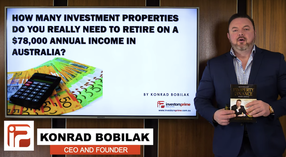 How many investment property to retire video image