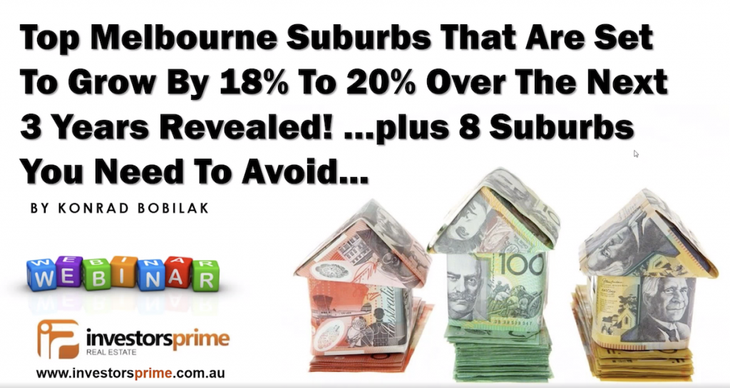 Top Melbourne Suburbs That Are Set To Grow By 18% To 20% Over The Next 3 Years Revealed!