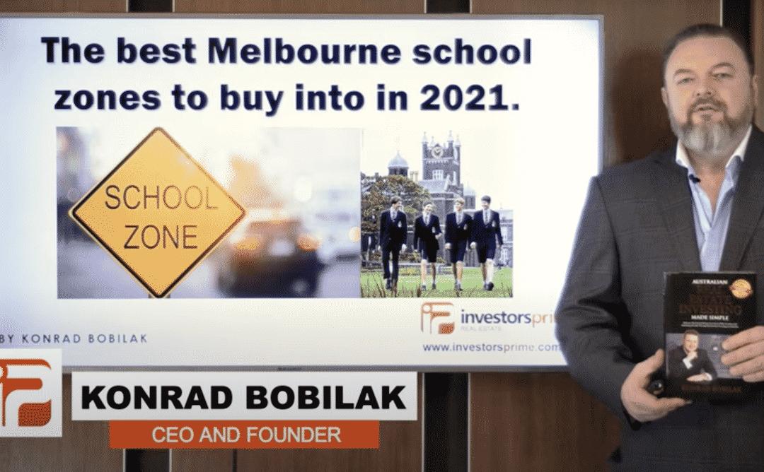 [NEW VIDEO]: The best Melbourne school zones to buy into in 2021