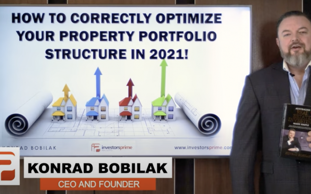 [NEW VIDEO]: How To Correctly Optimize Your Property Portfolio Structure In 2021